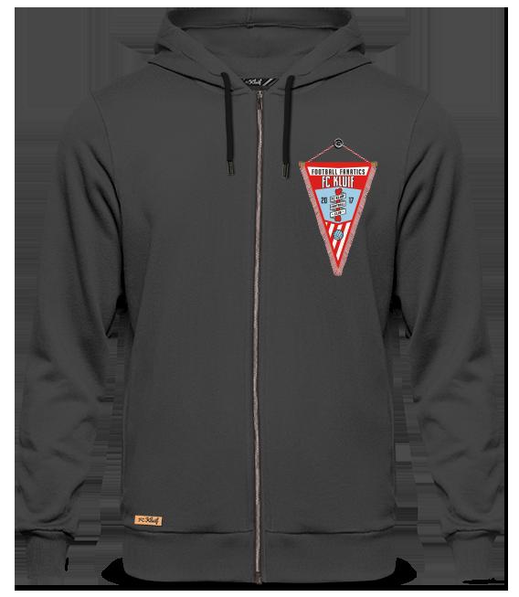 Zipped hoodie vaantje