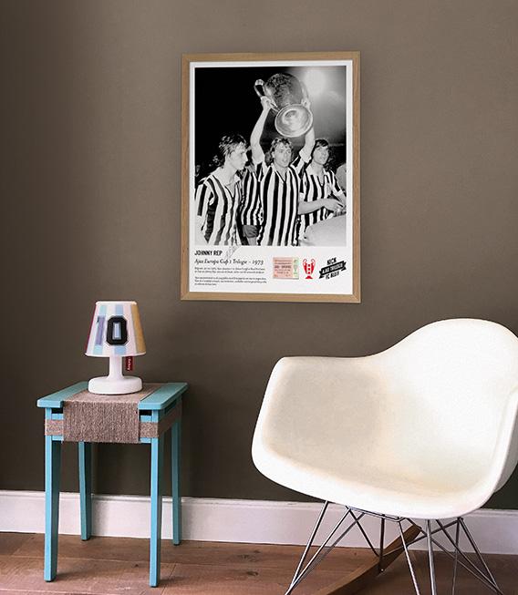 Johnny Rep Ajax poster voorbeeld 1