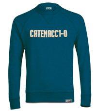 Catenaccio voetbal sweater blauw van organisch katoen